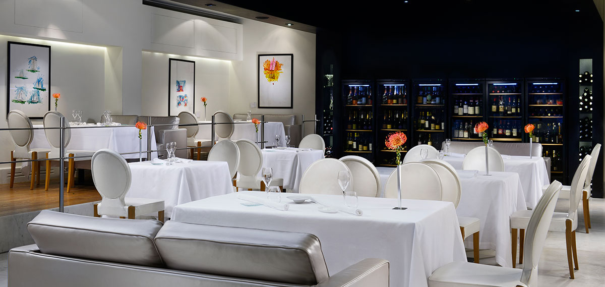Dining:      THE FIRST Luxury Art Hotel Roma  in Rome