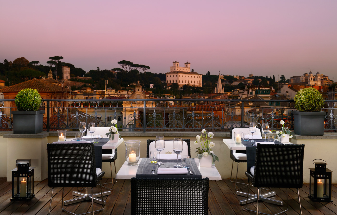 Activities:      THE FIRST Luxury Art Hotel Roma  in Rome