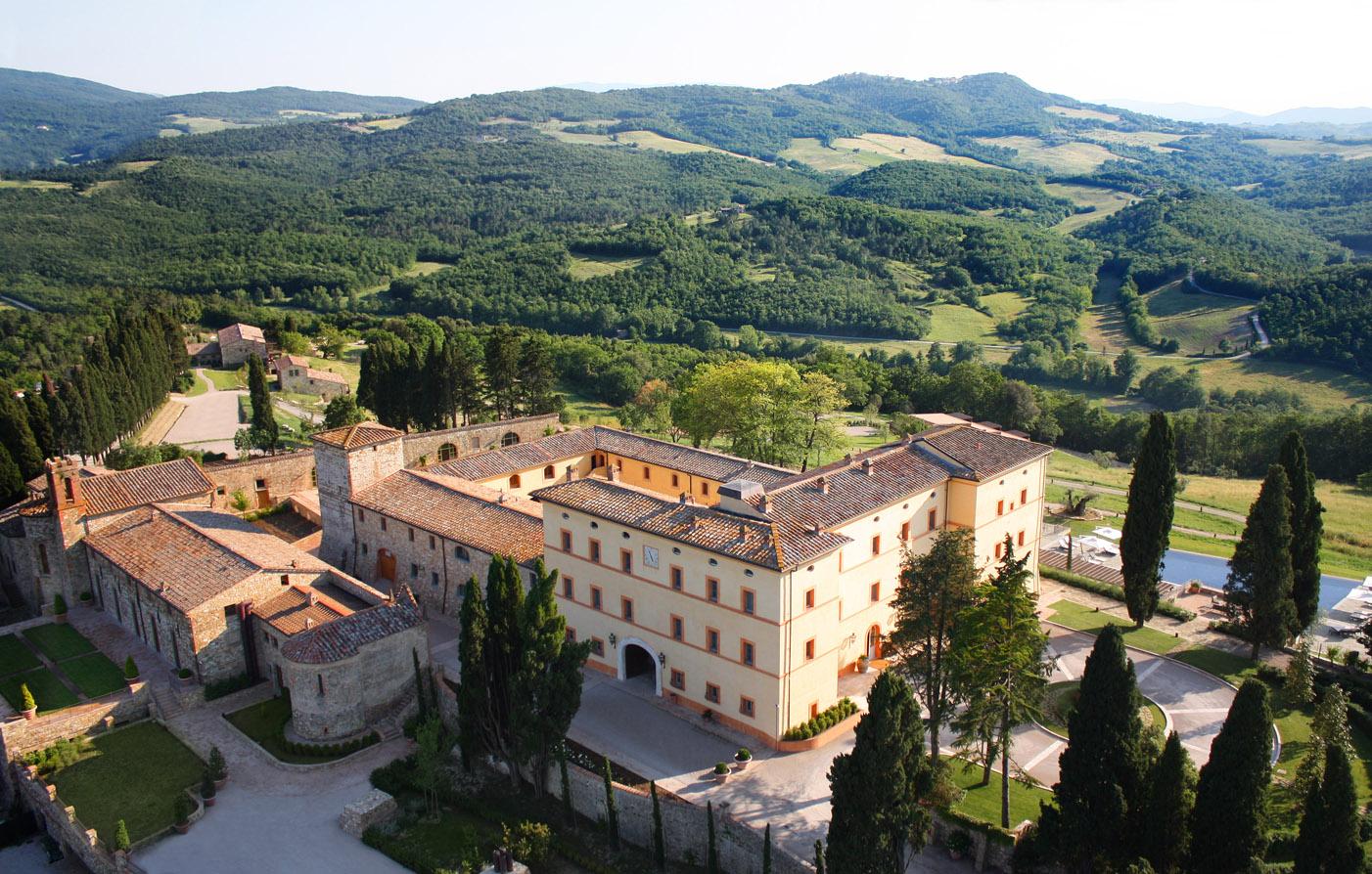 Luxury Tuscany Hotel  Castello di Casole  Luxury Italy ...