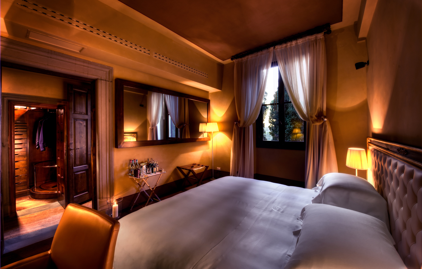 Tuscany villa hotels il salviatino luxury tuscany for Hotel design florence