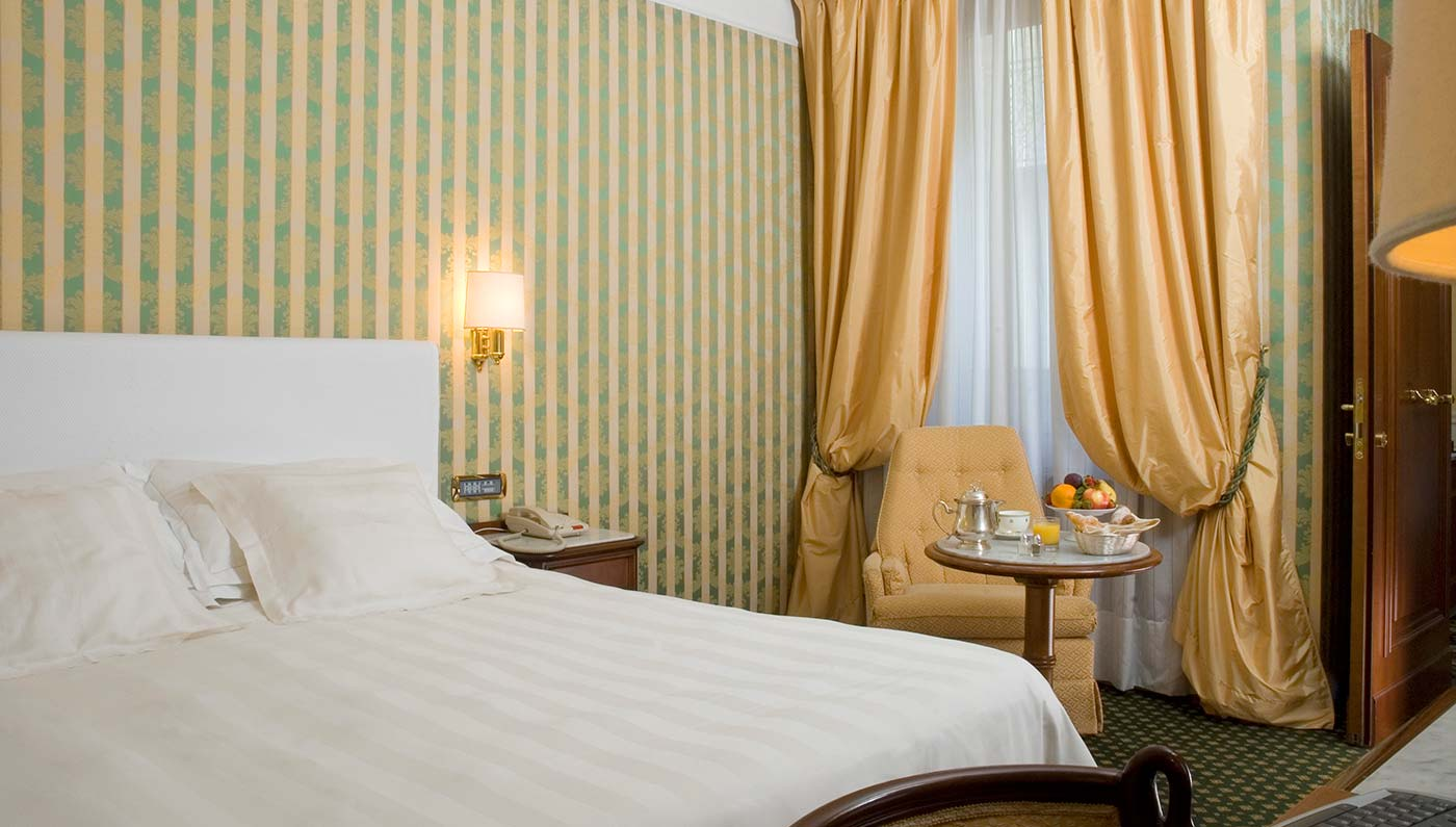 Accommodations:      Montebello Splendid  in Florence
