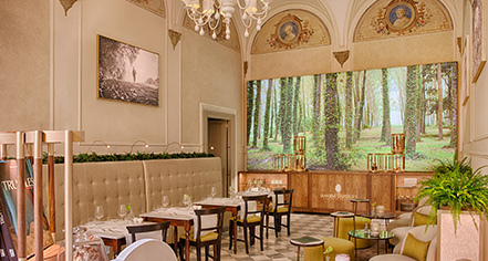 Dining at      NH Collection Florence Porta Rossa  in Florence