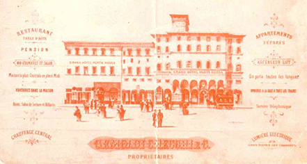 History:      NH Collection Florence Porta Rossa  in Florence