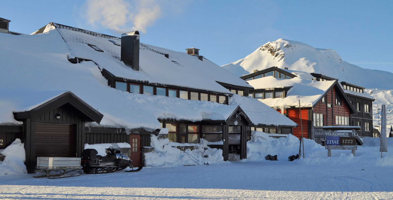 Image of Exterior of Hotel, Finse 1222, Norway, Overview