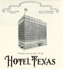 History:      Hilton Fort Worth  in Fort Worth