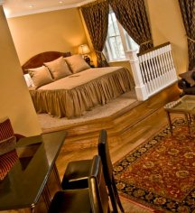 Accommodations:      The Inn at Carnall Hall  in Fayetteville