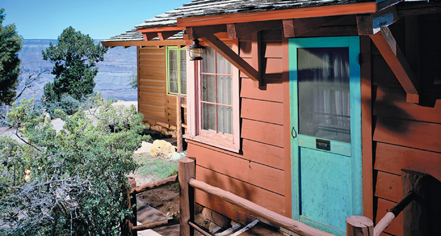 Accommodations:      Bright Angel Lodge & Cabins  in Grand Canyon