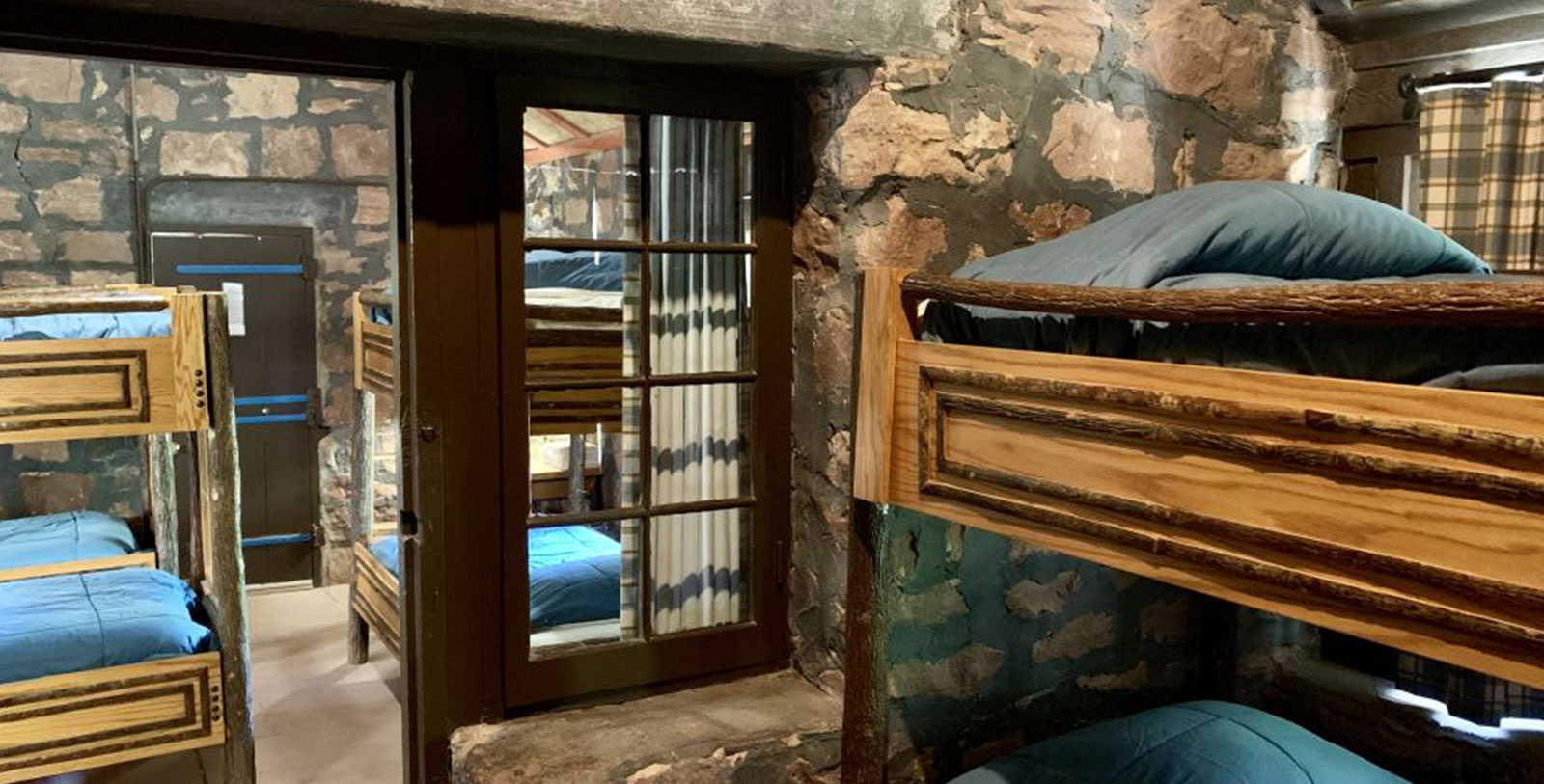 Image of Guestroom Interior at Phantom Ranch, 1922, Member of Historic Hotels of America, in Grand Canyon National Park, Arizona, Accommodations