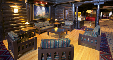 Accommodations:      El Tovar Hotel  in Grand Canyon