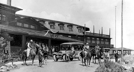 History:      El Tovar Hotel  in Grand Canyon