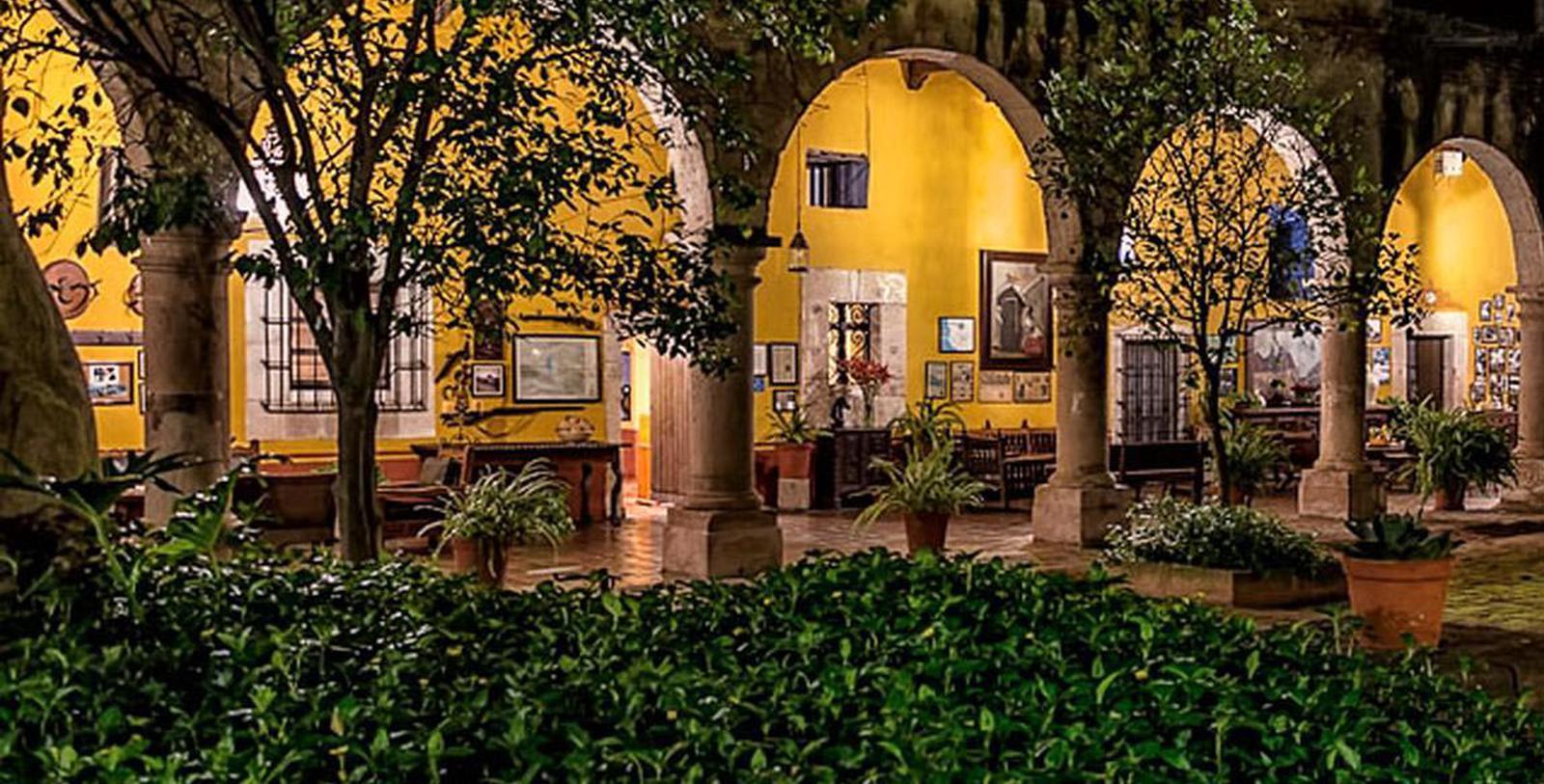 Image of Patio Restaurant, Hacienda el Carmen Hotel & Spa, Ahualulco de Mercado, 1722, Member of Historic Hotels Worldwide, Taste