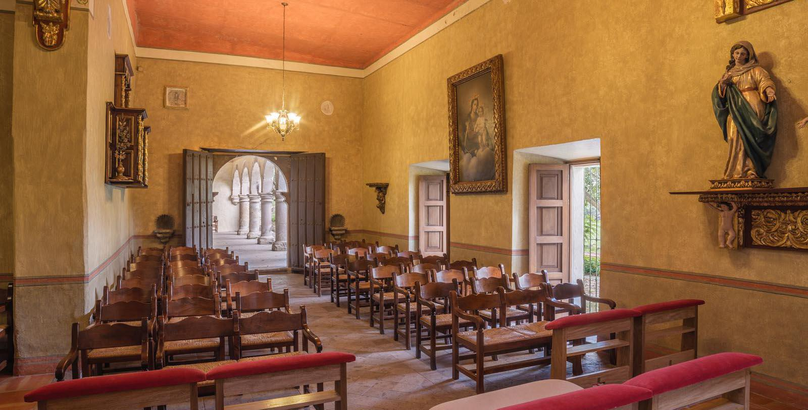 Image of Meeting Space Classroom, Hacienda Labor de Rivera, Teuchitlán, Mexico, 1700, Member of Historic Hotels Worldwide, Discover