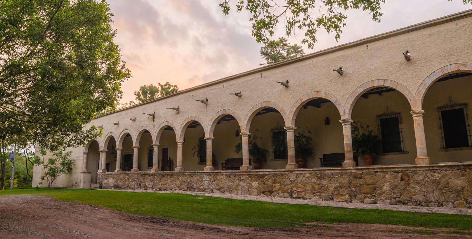 Image of Exterior, Hacienda Labor de Rivera, Teuchitlán, Mexico, 1700, Member of Historic Hotels Worldwide, Special Offers, Discounted Rates, Families, Romantic Escape, Honeymoons, Anniversaries, Reunions