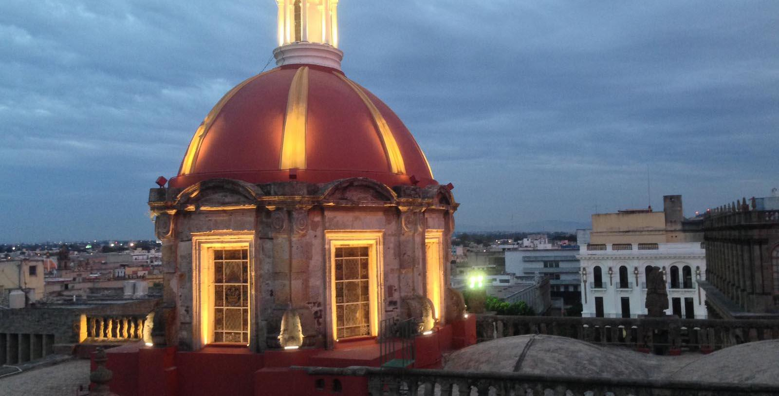 Image of Rooftop on Hotel de Mendoza, 1968, Member of Historic Hotels Worldwide, in Guadalajara, Mexico, Overview