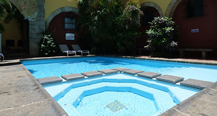 Activities:      Hotel de Mendoza  in Guadalajara
