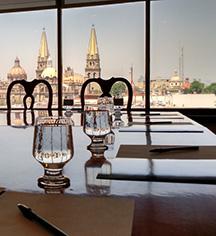 Meetings at      Hotel de Mendoza  in Guadalajara