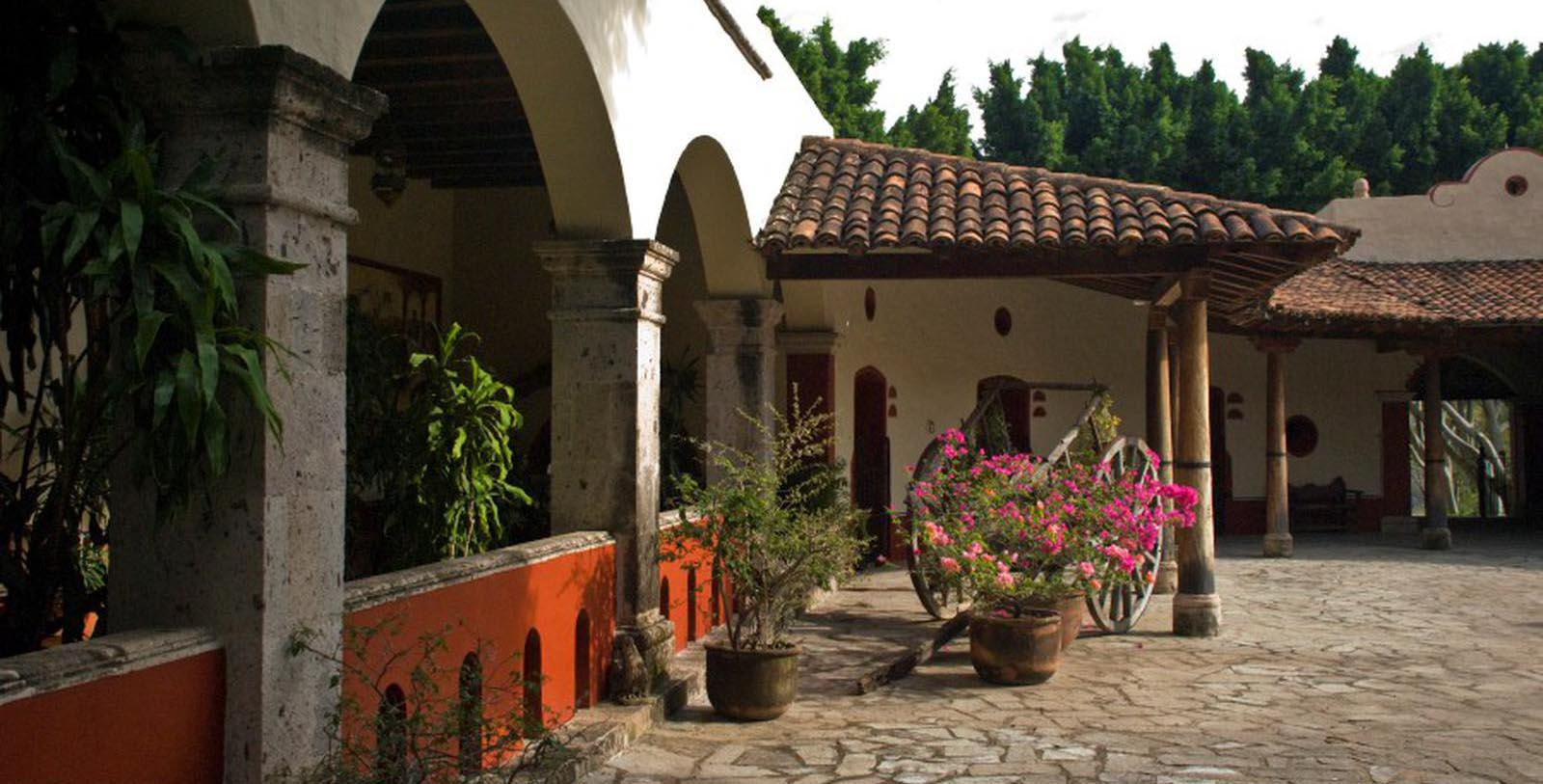 Image of Exterior, Hacienda Lomajim, Zapopan, Mexico, 1600s, Member of Historic Hotels Worldwide, Discover