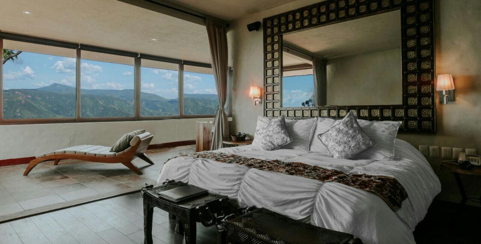 Image of Guestroom Interior, Hacienda Lomajim, Zapopan, Mexico, 1600s, Member of Historic Hotels Worldwide, Location Map