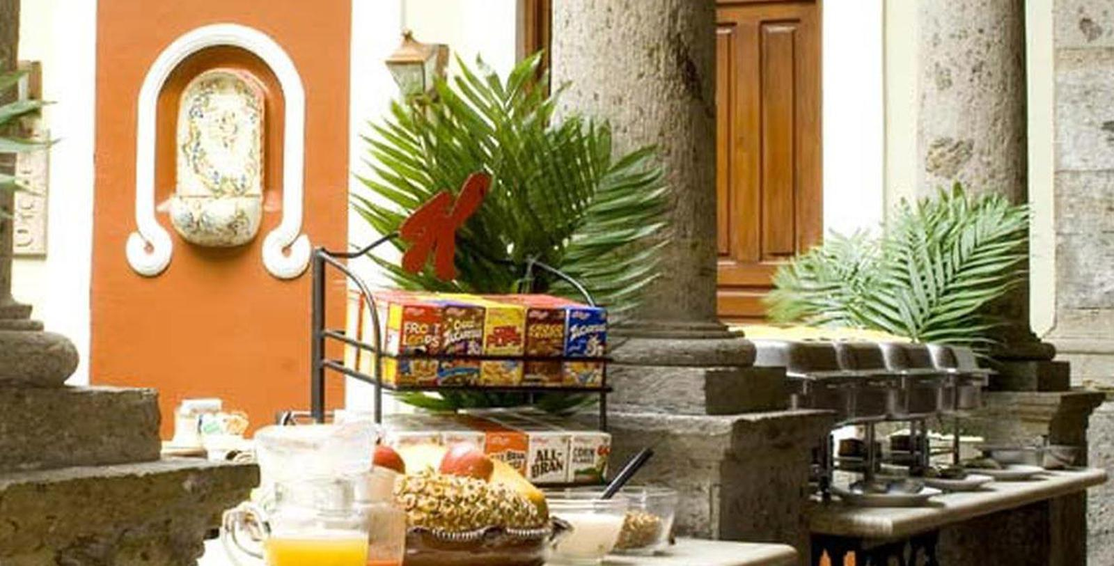 Image of Breakfast Buffet, Hotel San Francisco Plaza, Guadalajara, 1896, Member of Historic Hotels Worldwide, Taste