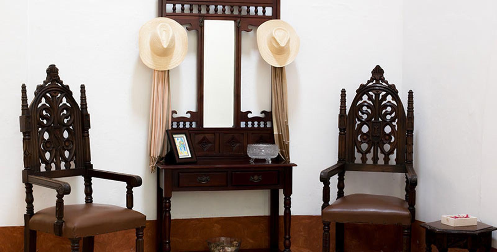 Image of Hotel Interior Detail, Hacienda La Magdalena, Zapopan, Mexico, 1735, Member of Historic Hotels Worldwide, Discover