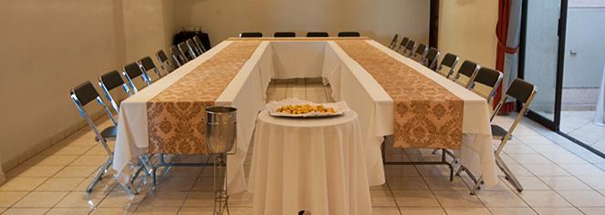 Meetings at      Hotel Morales  in Guadalajara