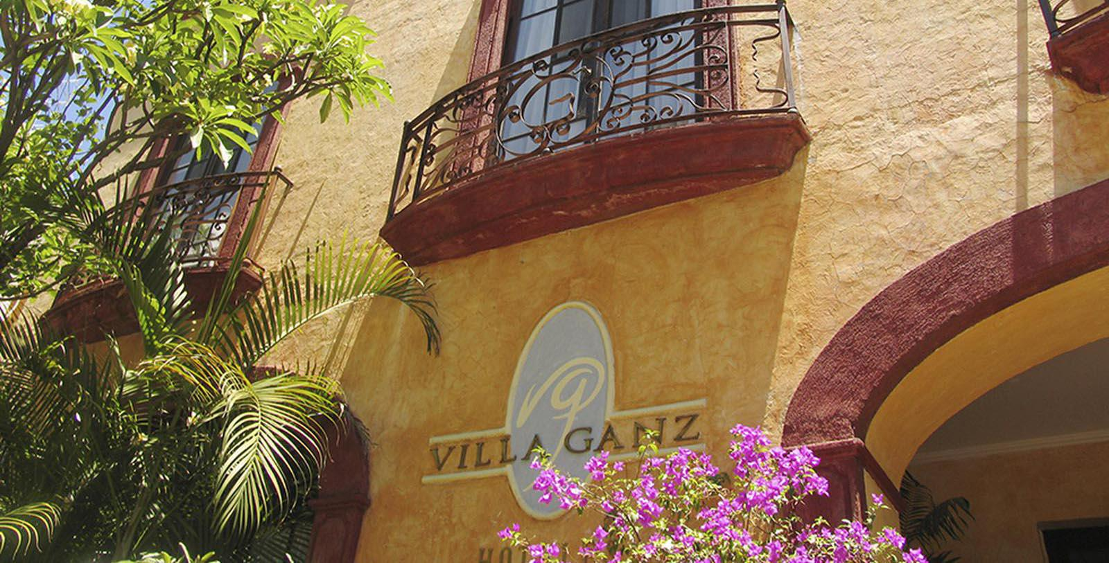 Image of Hotel Sign at Villa Ganz Boutique Hotel, 1930, Member of Historic Hotels Worldwide, in Guadalajara, Jalisco, Mexico, Overview