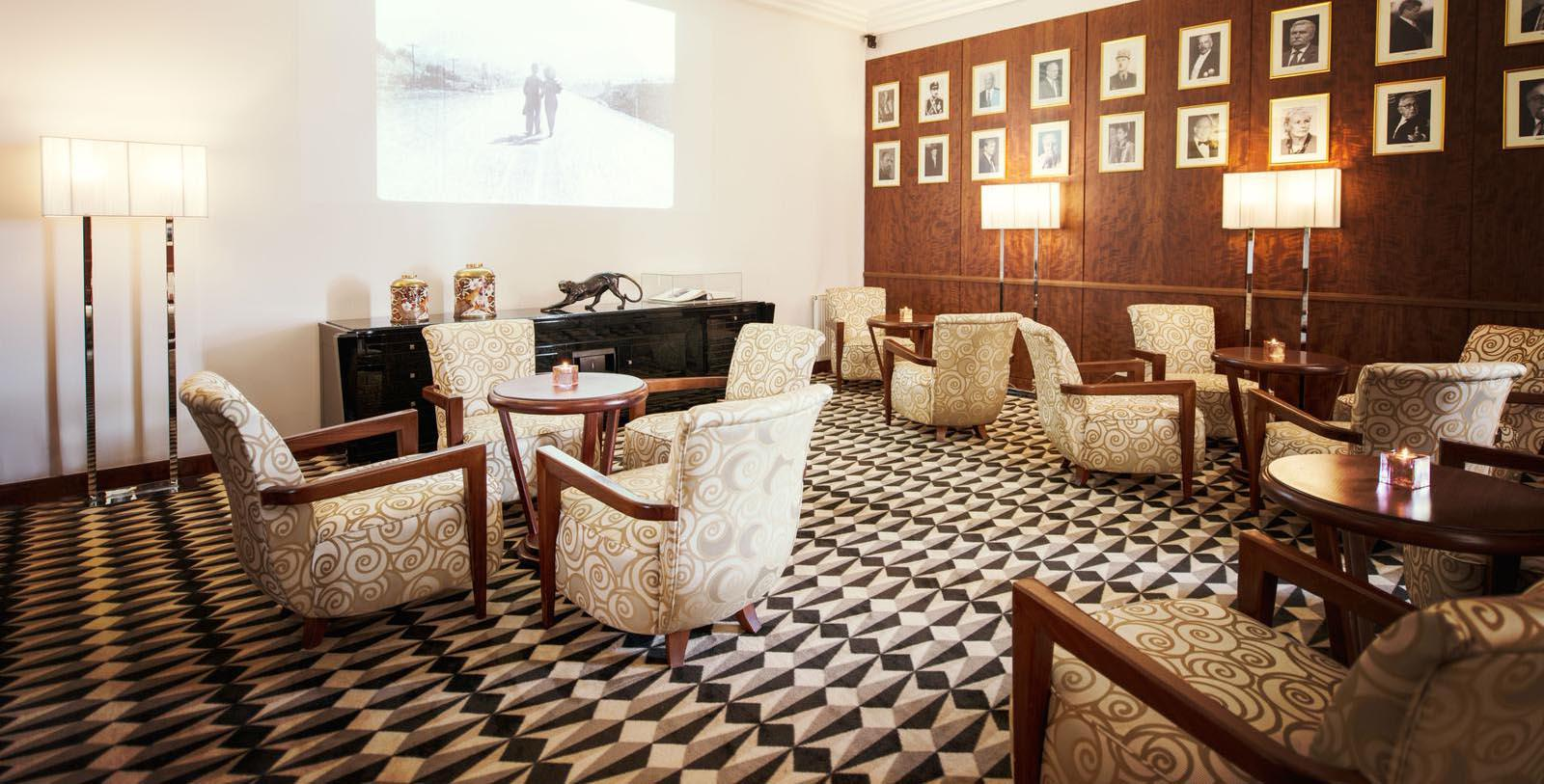 Image of Hotel Lobby Lounge at Sofitel Grand Sopot, 1927, Member of Historic Hotels Worldwide, in Sopot, Poland, Discover