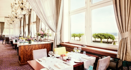 Dining at      Sofitel Grand Sopot  in Sopot