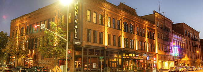 Local Attractions:      The Montvale Hotel  in Spokane