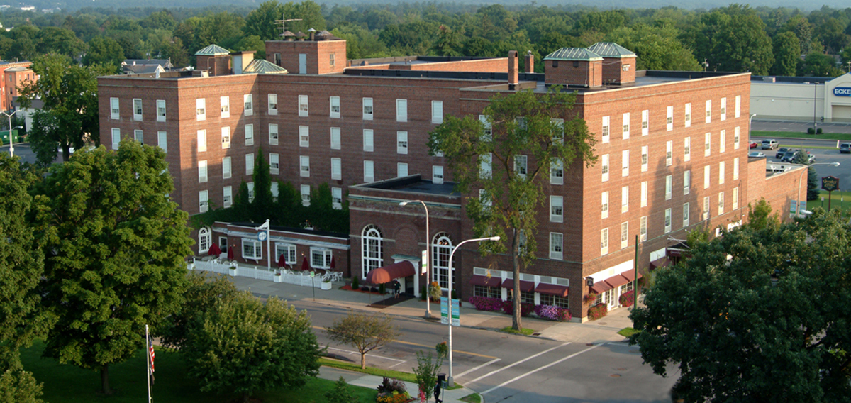 The Queensbury Hotel  in Glens Falls