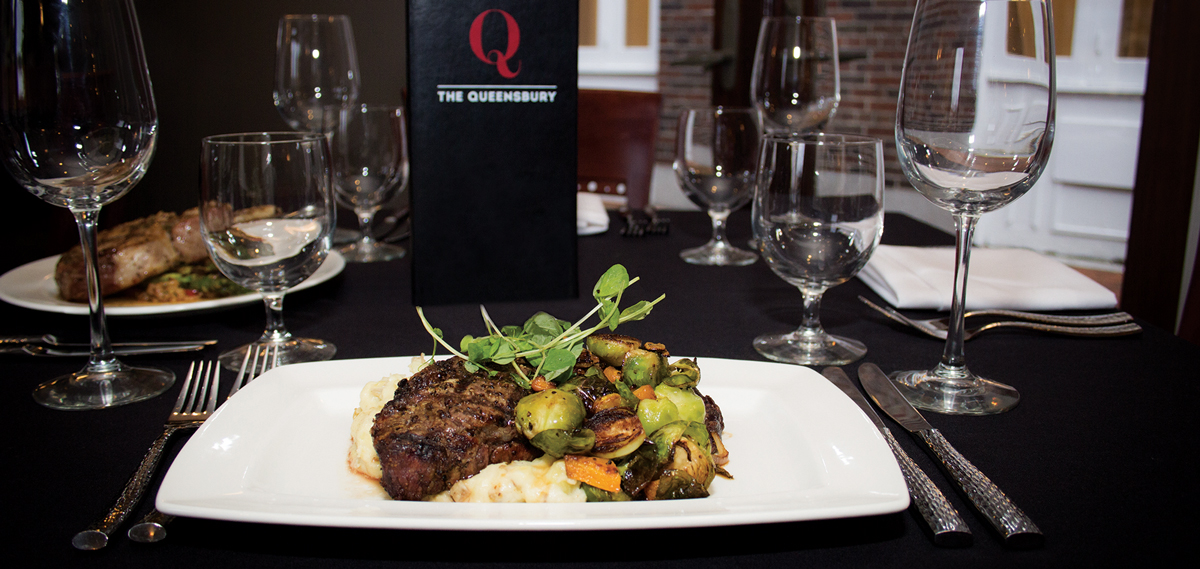 Dining:      The Queensbury Hotel  in Glens Falls