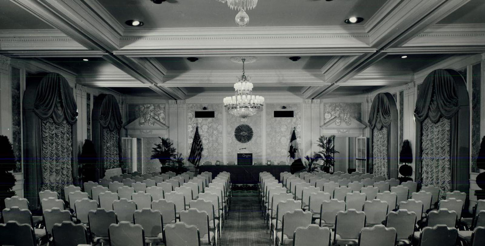 Historic Image of Ballroom at The Queensbury Hotel, 1926, Member of Historic Hotels of America, in Glens Falls, New York, Discover