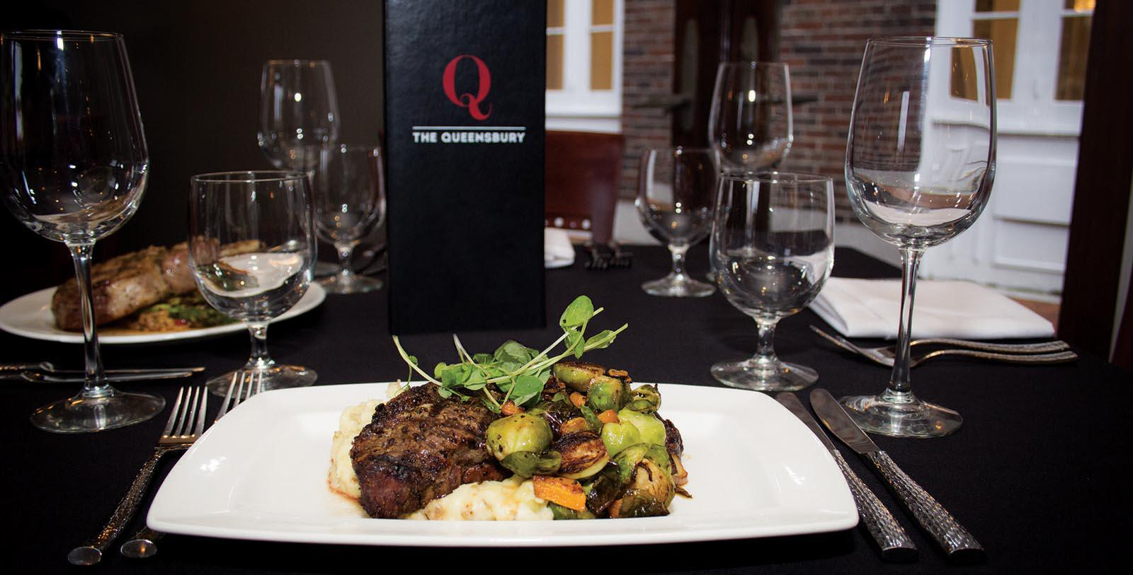 Image of Steak at Park 26 at The Queensbury Hotel, 1926, Member of Historic Hotels of America, in Glens Falls, New York, Taste
