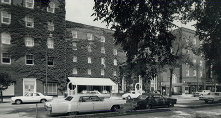 History:      The Queensbury Hotel  in Glens Falls