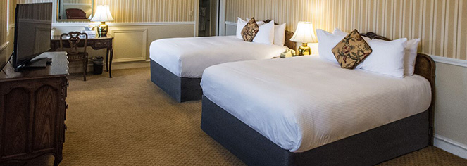 Accommodations:      The Queensbury Hotel  in Glens Falls