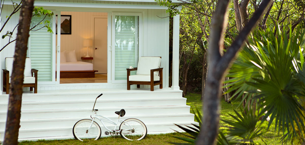 Accommodations:      The Cove, Eleuthera  in Gregory Town