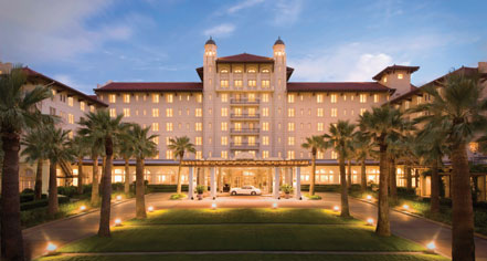 Hotel Galvez & Spa, A Wyndham Grand Hotel  in Galveston