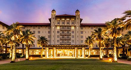 Hotel Galvez & Spa, A Wyndham Grand Hotel  in Galveston