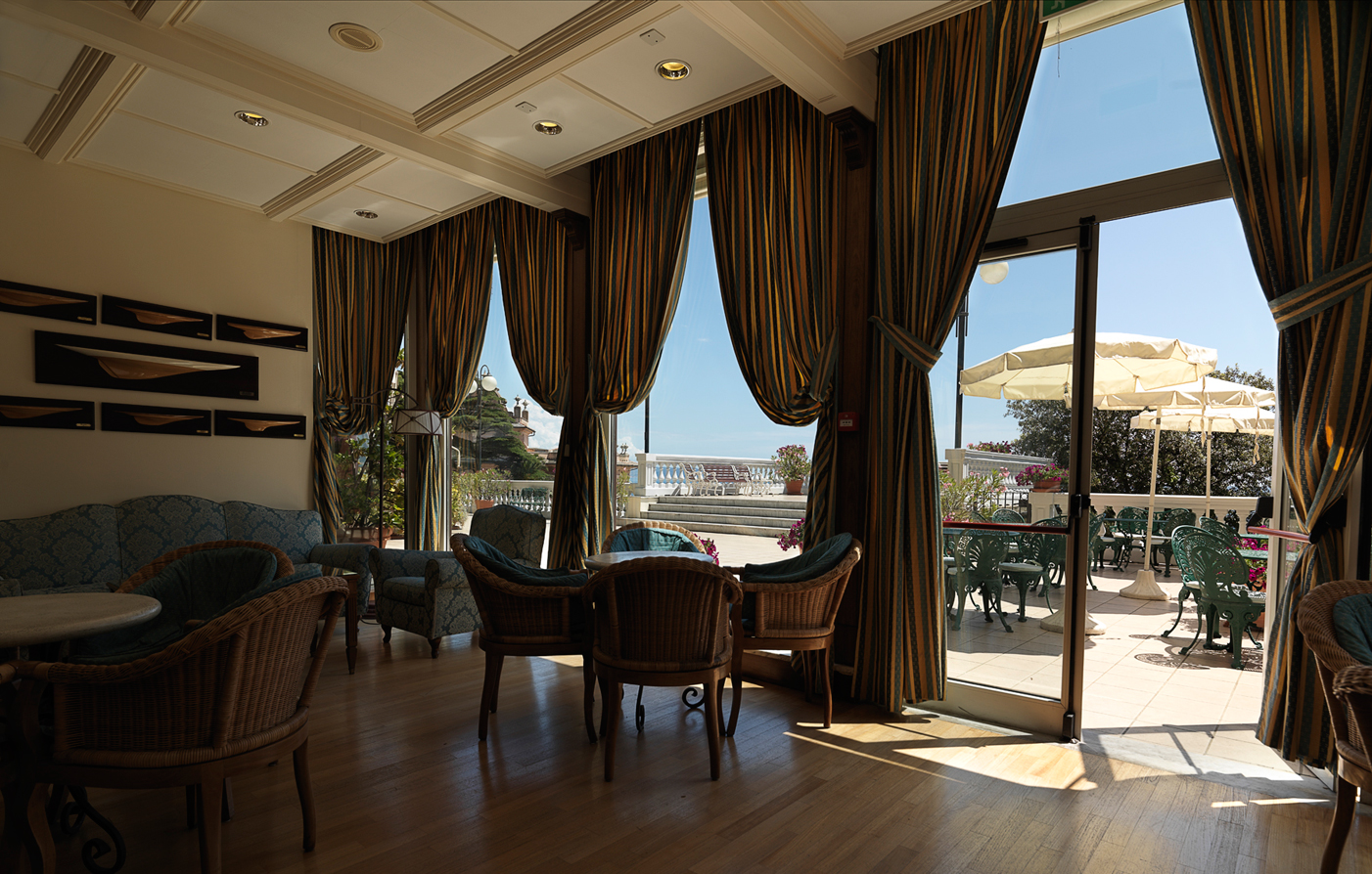 Dining:      Excelsior Palace Hotel  in Rapallo