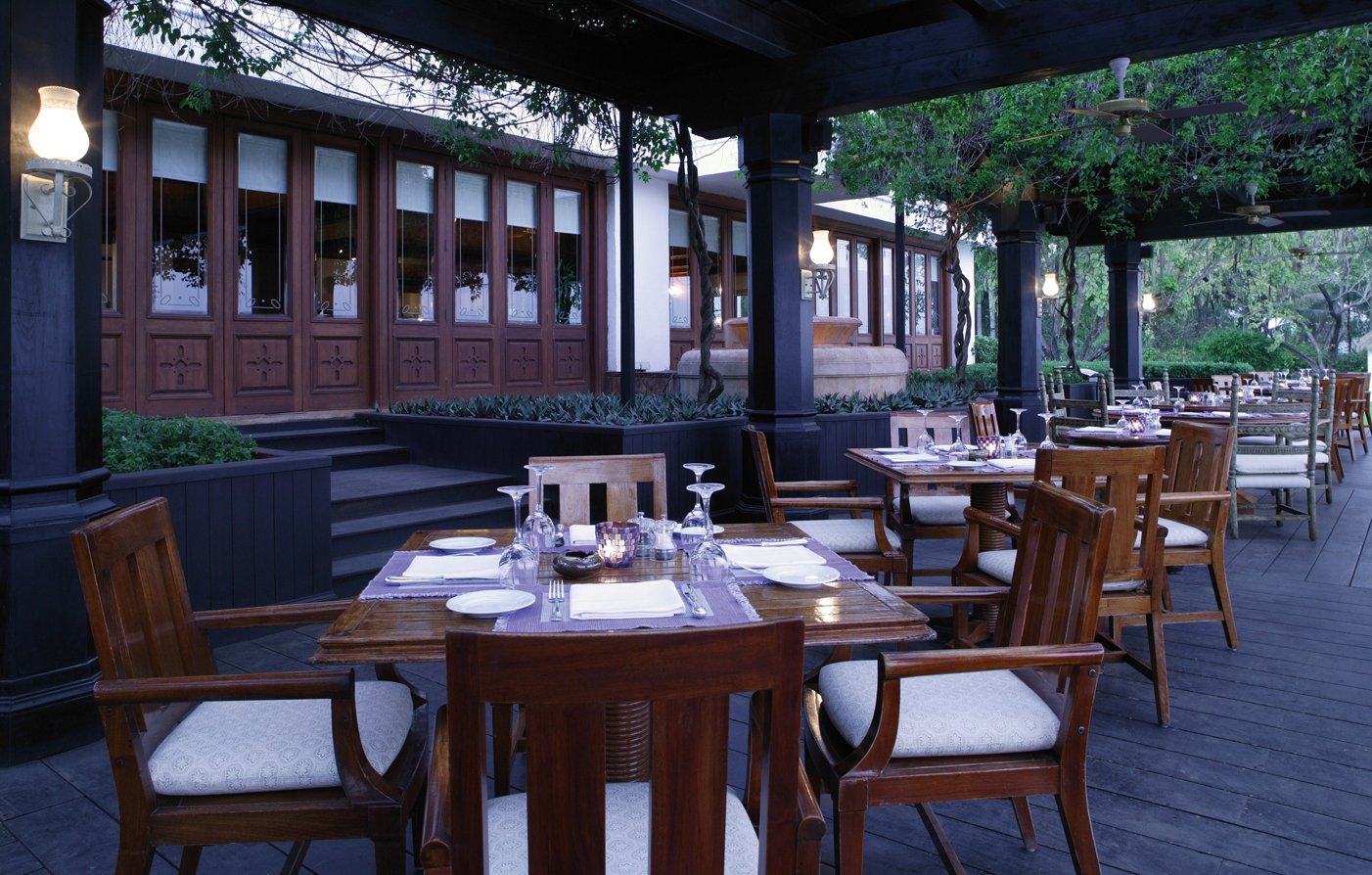 Dining:      The Leela Goa  in Goa