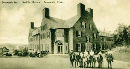 History:      The Spa at Norwich Inn  in Norwich