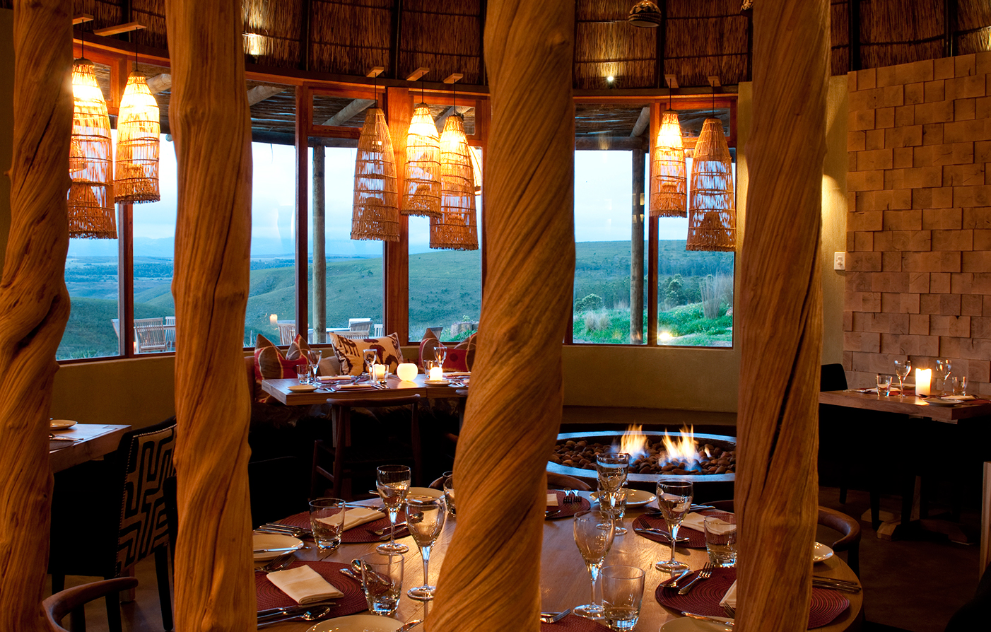 Dining:      Gondwana Game Reserve  in Mossel Bay