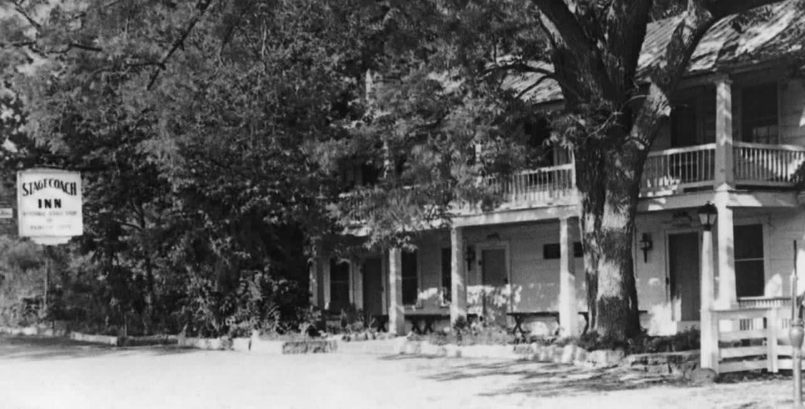 Historic Image of Hotel Exterior The Stagecoach Inn, 1852, Member of Historic Hotels of America, in Salado, Texas, Discover