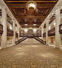 Meetings at      Amway Grand Plaza Hotel  in Grand Rapids