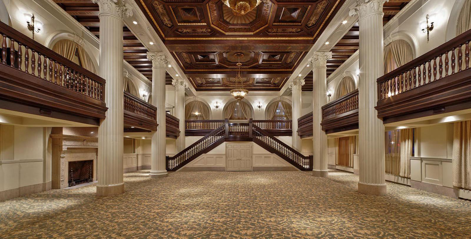 Image of Interior Event Space at Amway Grand Plaza Hotel, 1913, 1913, Member of Historic Hotels of America, in Grand Rapids, Michigan, Experience