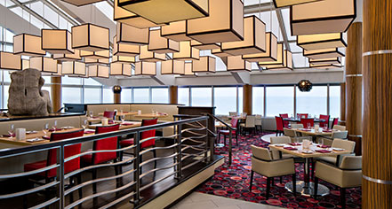Dining at      Amway Grand Plaza, Curio Collection by Hilton  in Grand Rapids