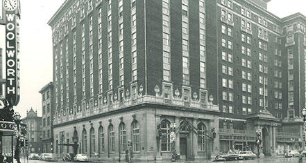 History:      Amway Grand Plaza Hotel  in Grand Rapids