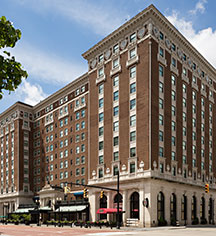 Amway Grand Plaza Hotel  in Grand Rapids