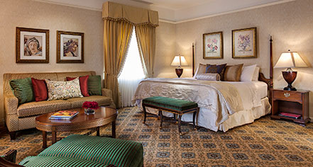 Accommodations:      Amway Grand Plaza, Curio Collection by Hilton  in Grand Rapids