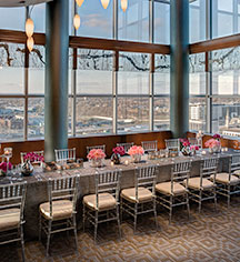 Weddings:      Amway Grand Plaza, Curio Collection by Hilton  in Grand Rapids
